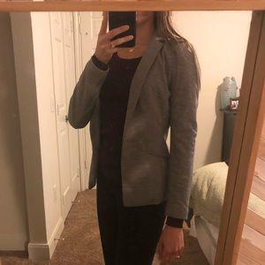 H&M Grey Blazer Size 2
